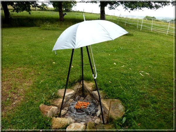 Parapluie BBQ